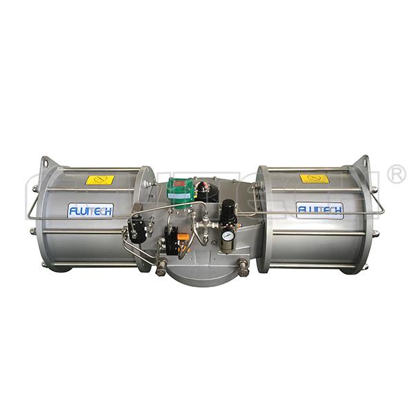 DRG01-D03-43 SIL3认证拨叉式大扭矩阀门气动执行器
